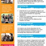 beyondblue online fundraising ecommunication