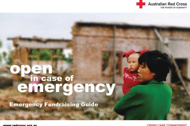 Australian Red Cross Emergency Fundraising Kit