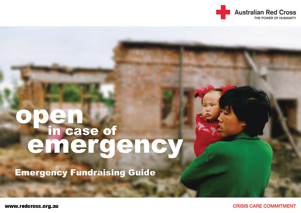 Australian Red Cross Emergency Fundraising Kit